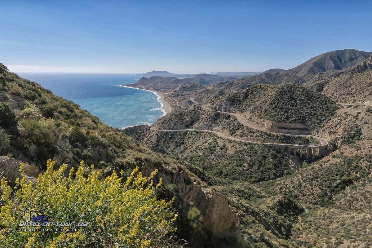 Cabo de Gata-Berglandschaft