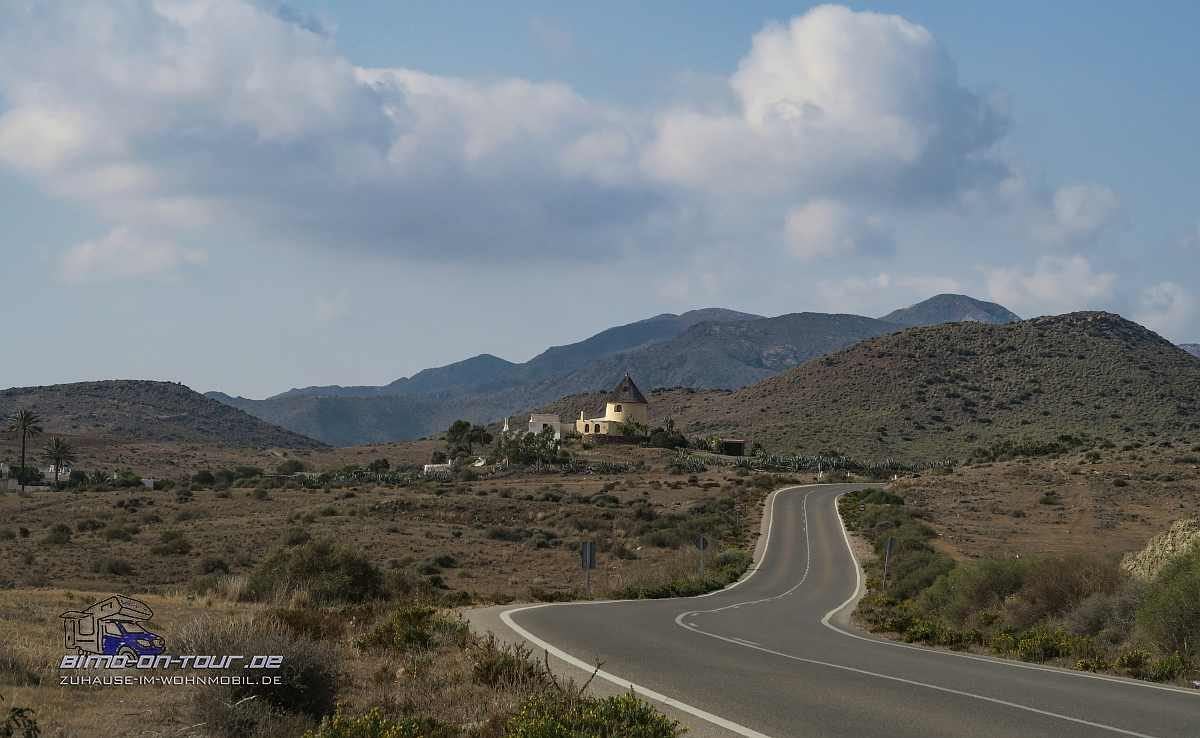 Cabo de Gata-Landschaft