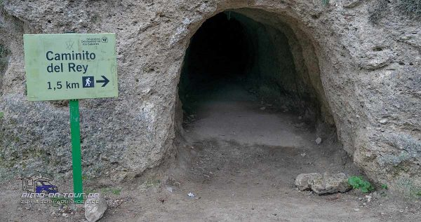 Caminito del Rey-Zugang