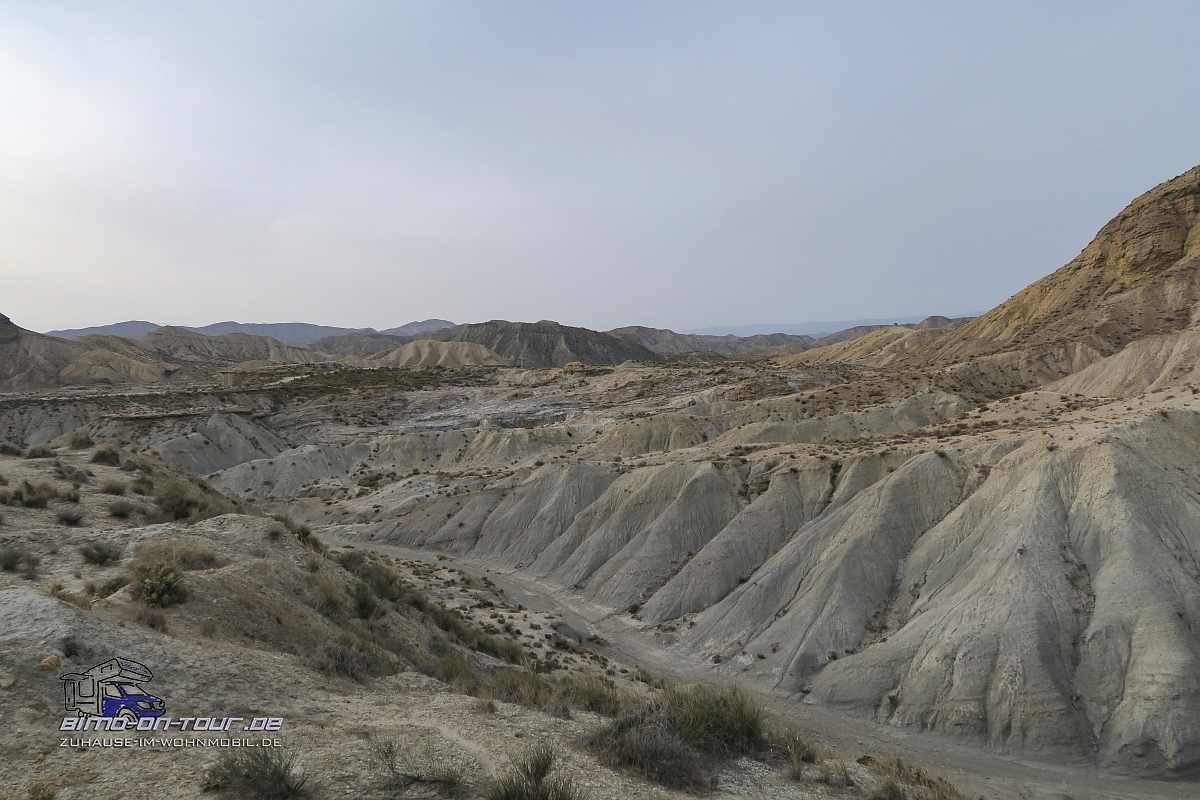Desierto-Tabernas-Badlands