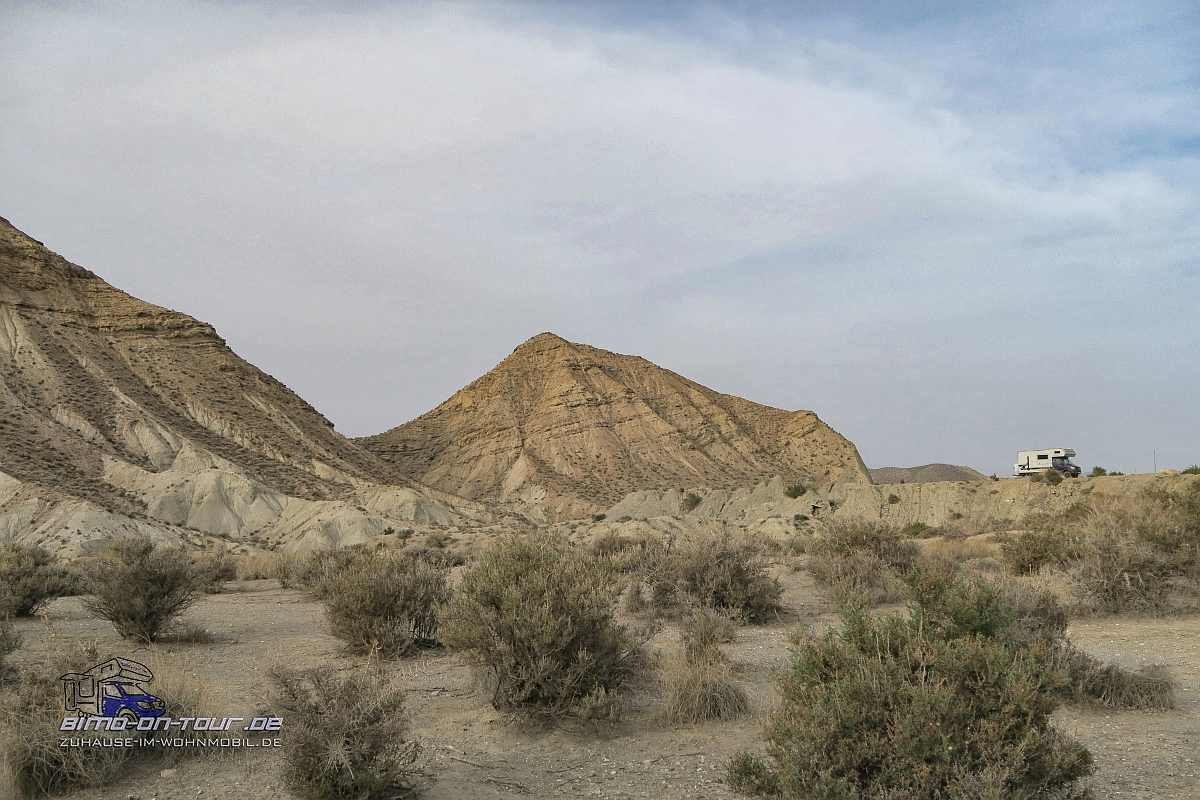 Desierto-Tabernas-Stellplatz
