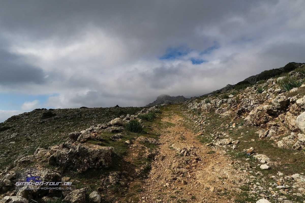 El Torcal-Aufstieg