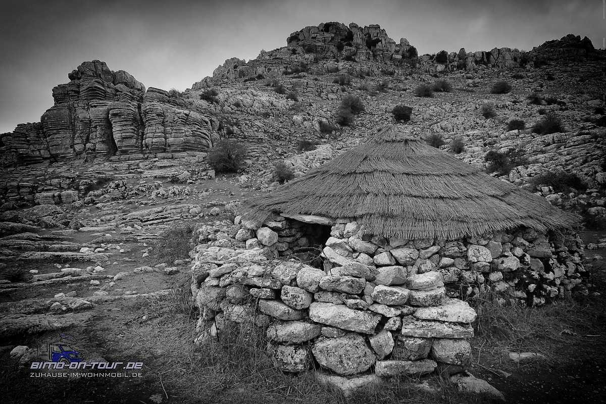 El Torcal-Schutzhütte