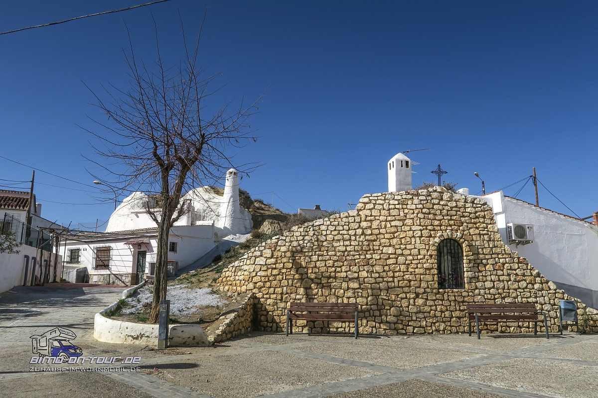 Guadix Cueva-Kirche