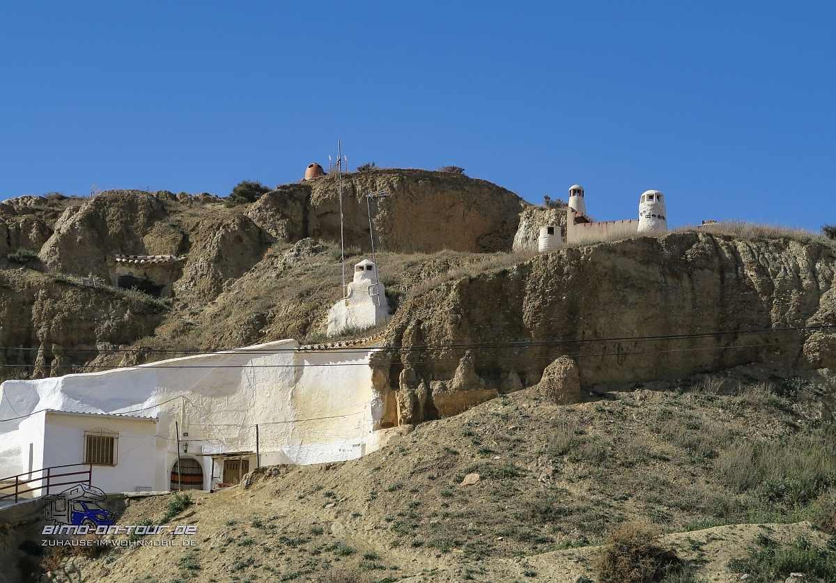 Guadix-Höhlenhaus