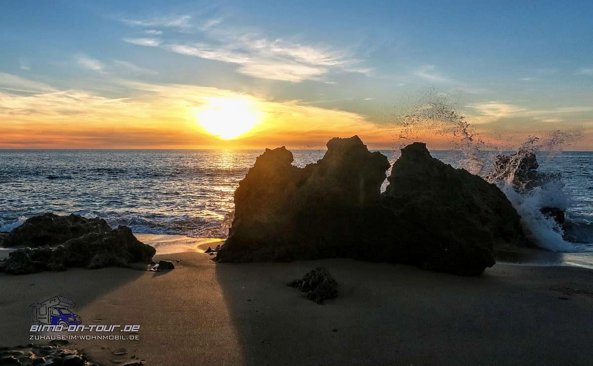 Roche-Sonnenuntergang