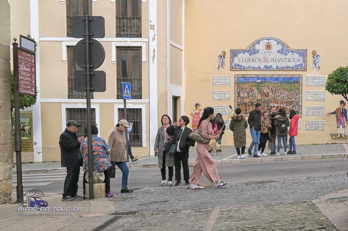 Ronda-Touristen