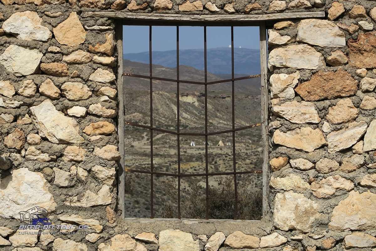 Taberna Western Ruine-Fenster