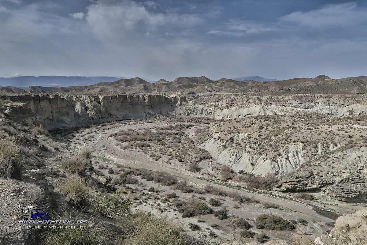 Tabernas-Badlands