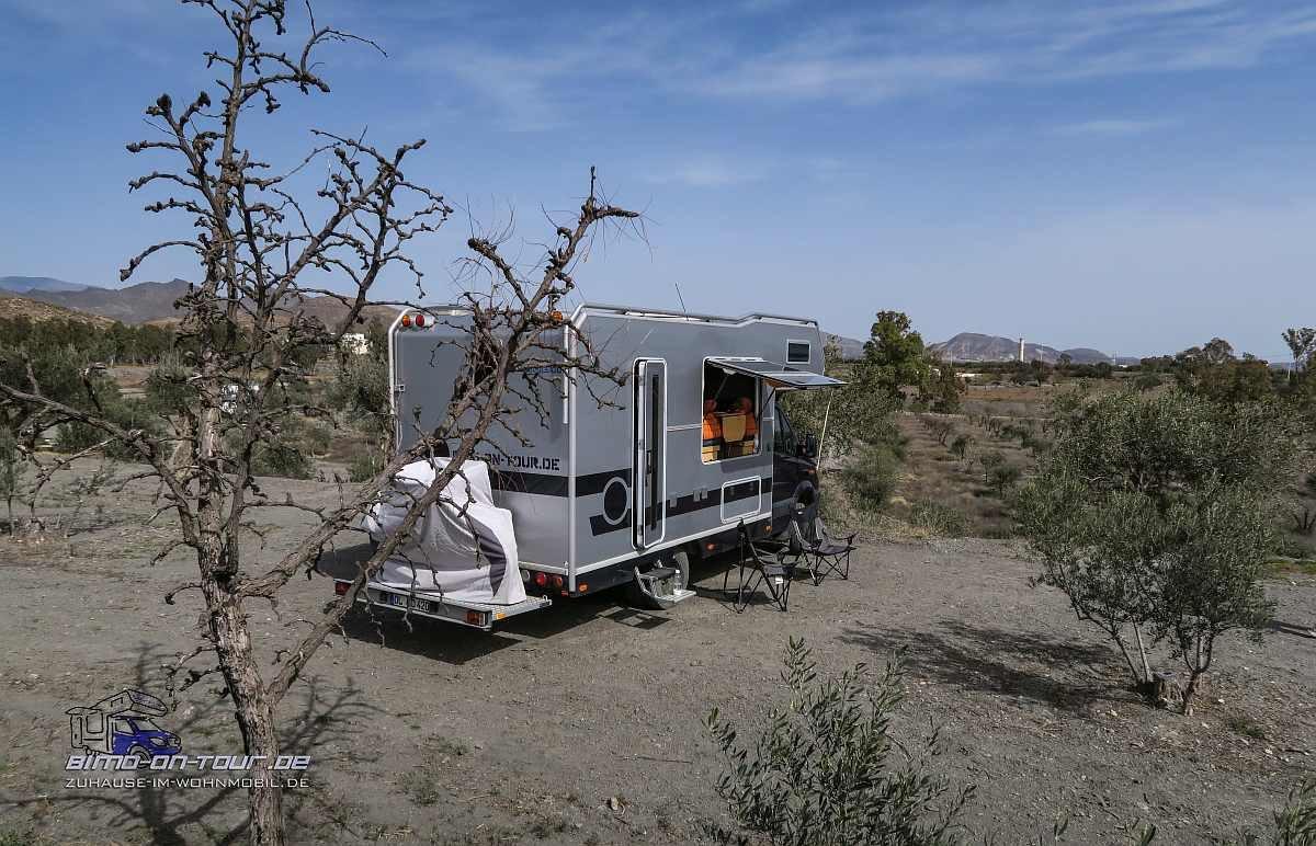 Tor zur Wüste-Stellplatz