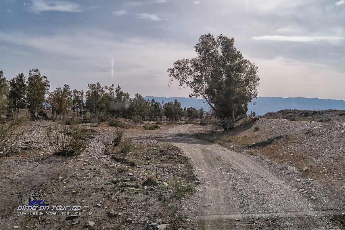 Tor zur Wüste-Zufahrt