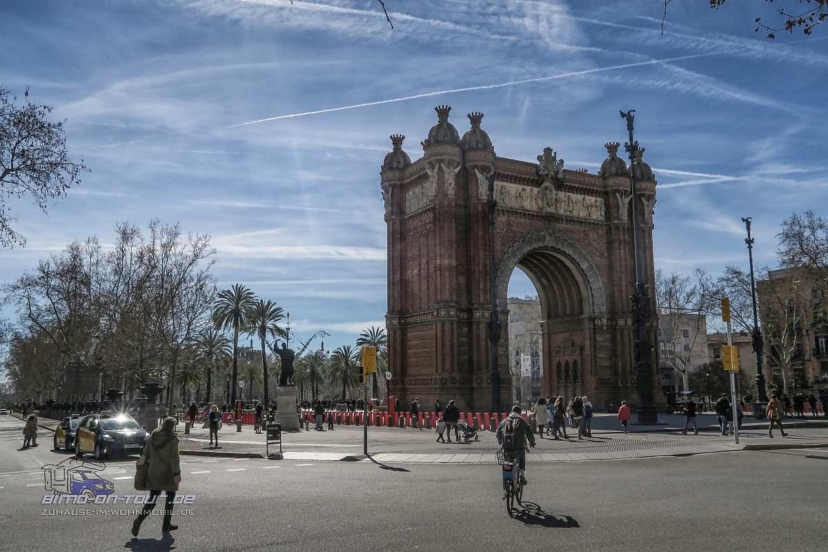 Barcelona-Arc de Triomf