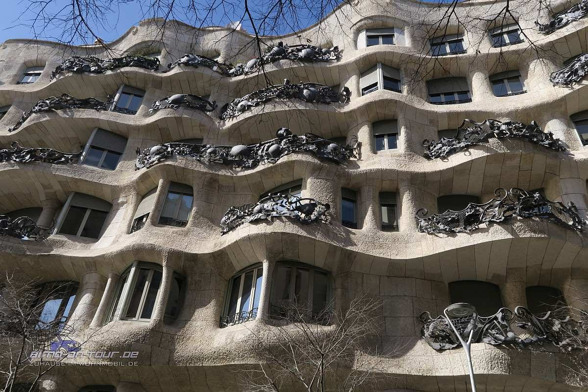 Barcelona-Casa Mila