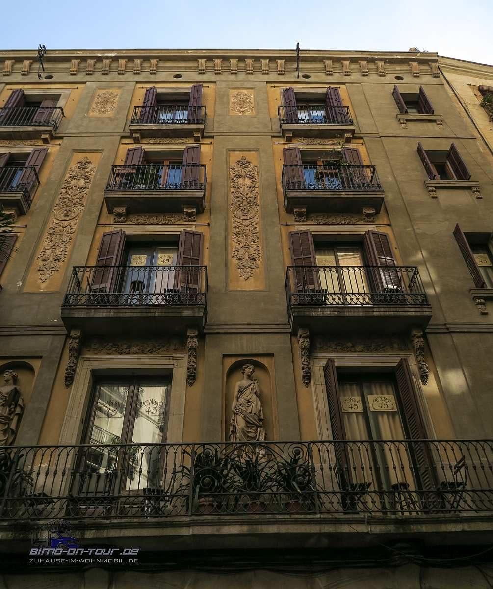 Barcelona-Fassade
