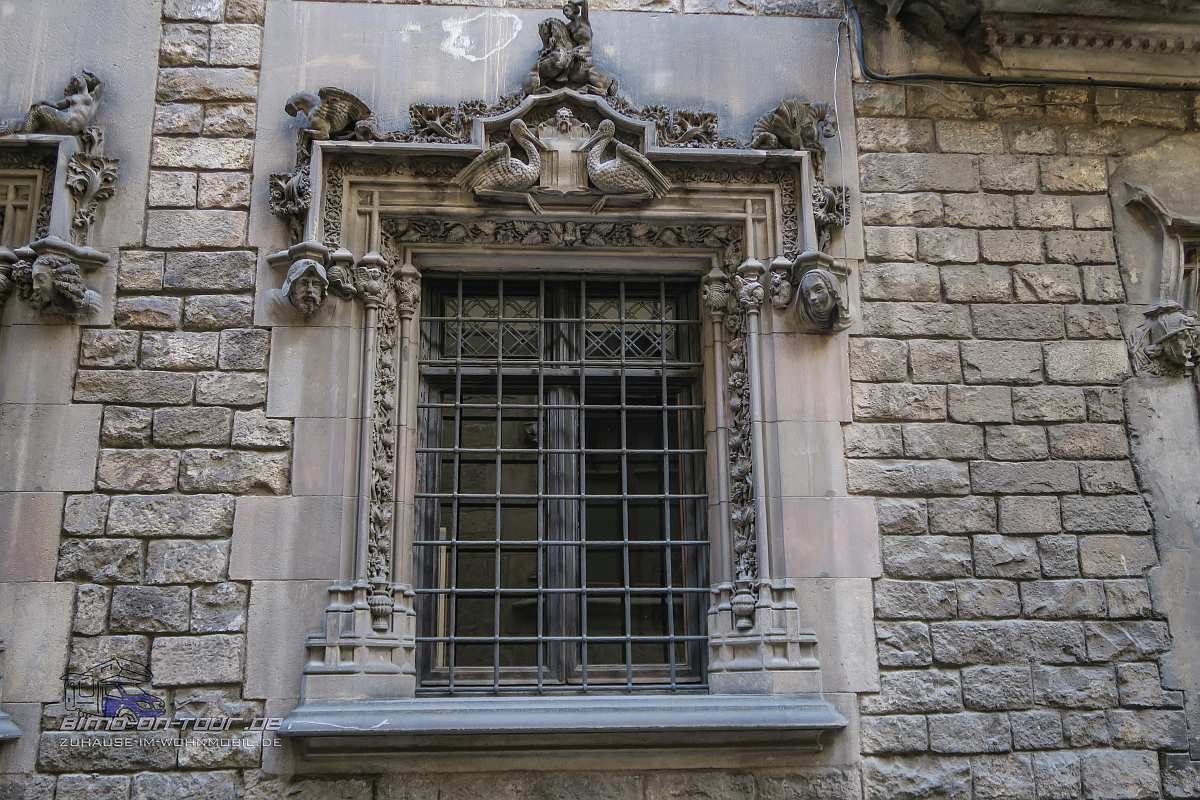 Barcelona-Fenster