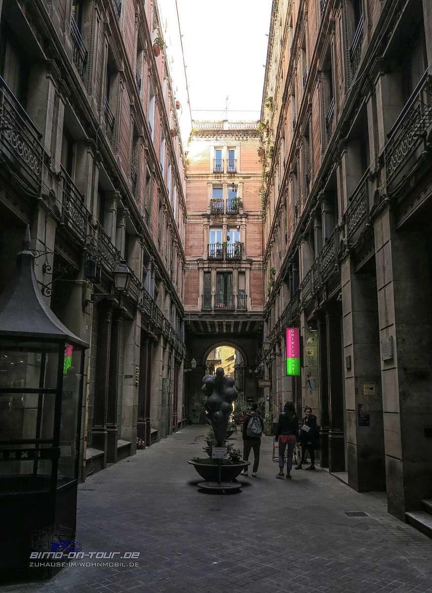Barcelona-Gasse