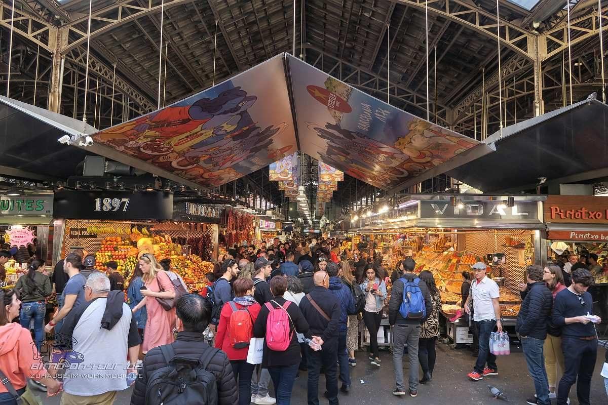 Barcelona-Markthalle