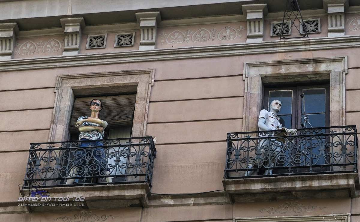 Barcelona-Schaufensterpuppen