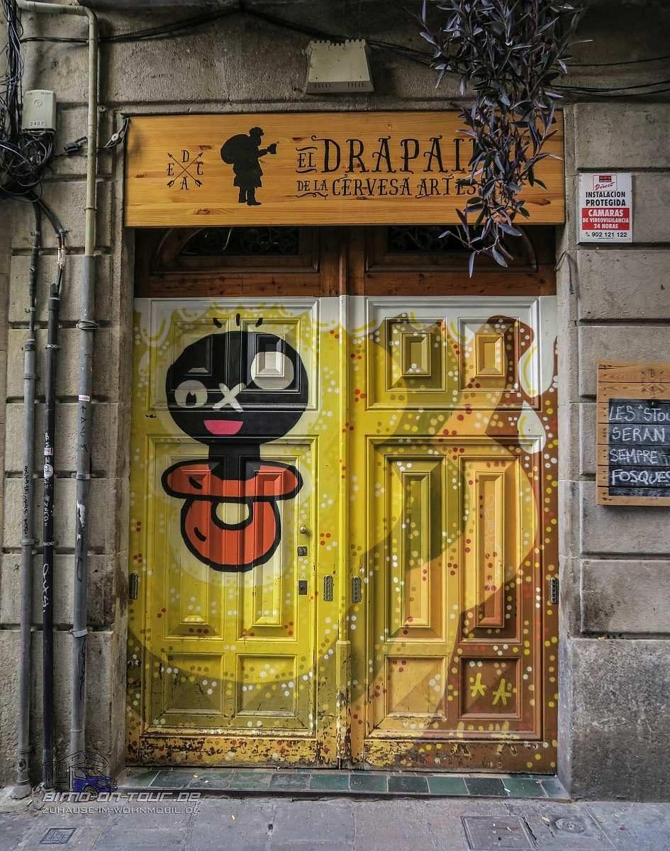 Barcelona-Tür