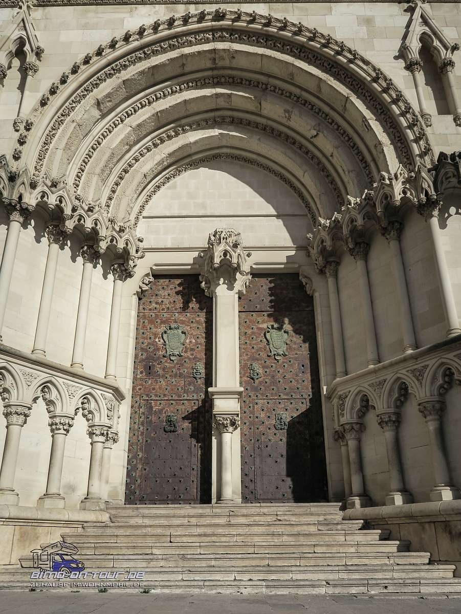 Cuenca-Kircheingang