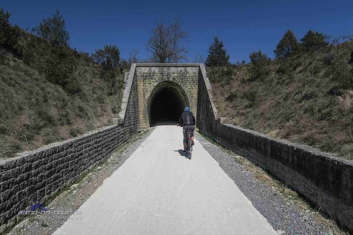 Eisenbahn-Radweg