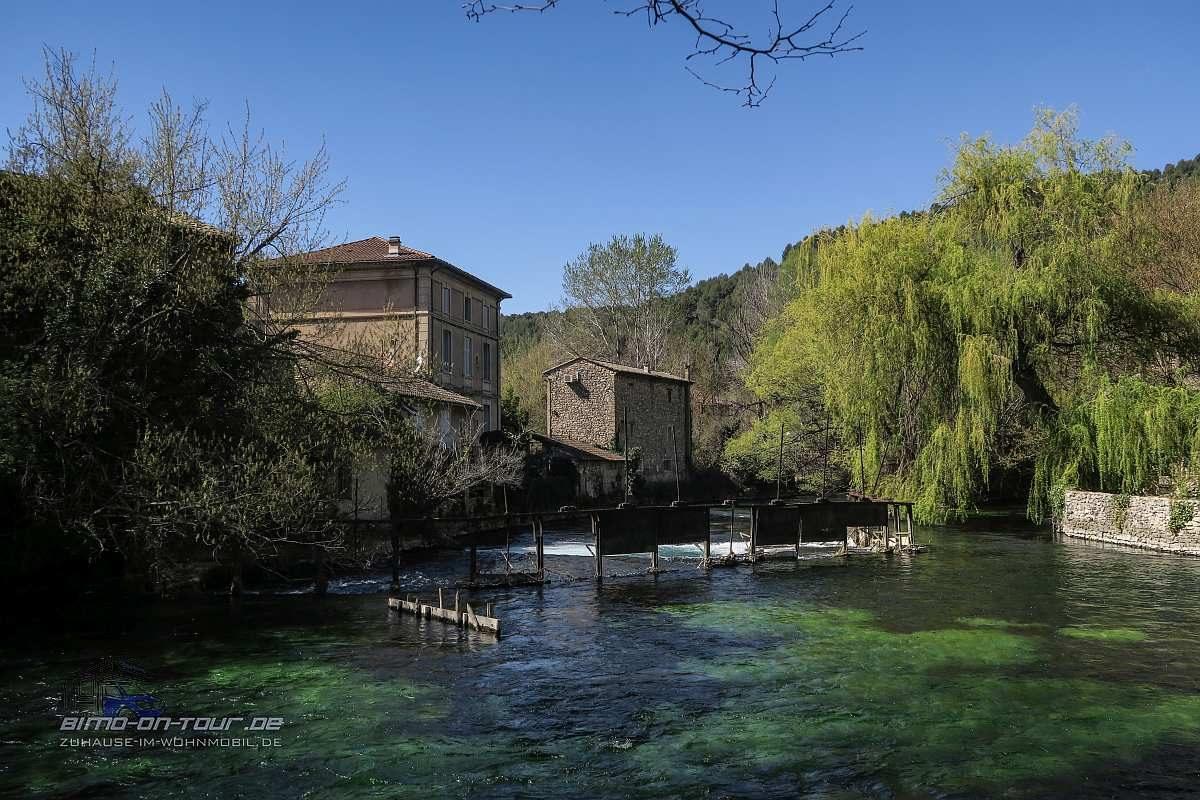 Fontaine-de-Vaucluse-Wehr
