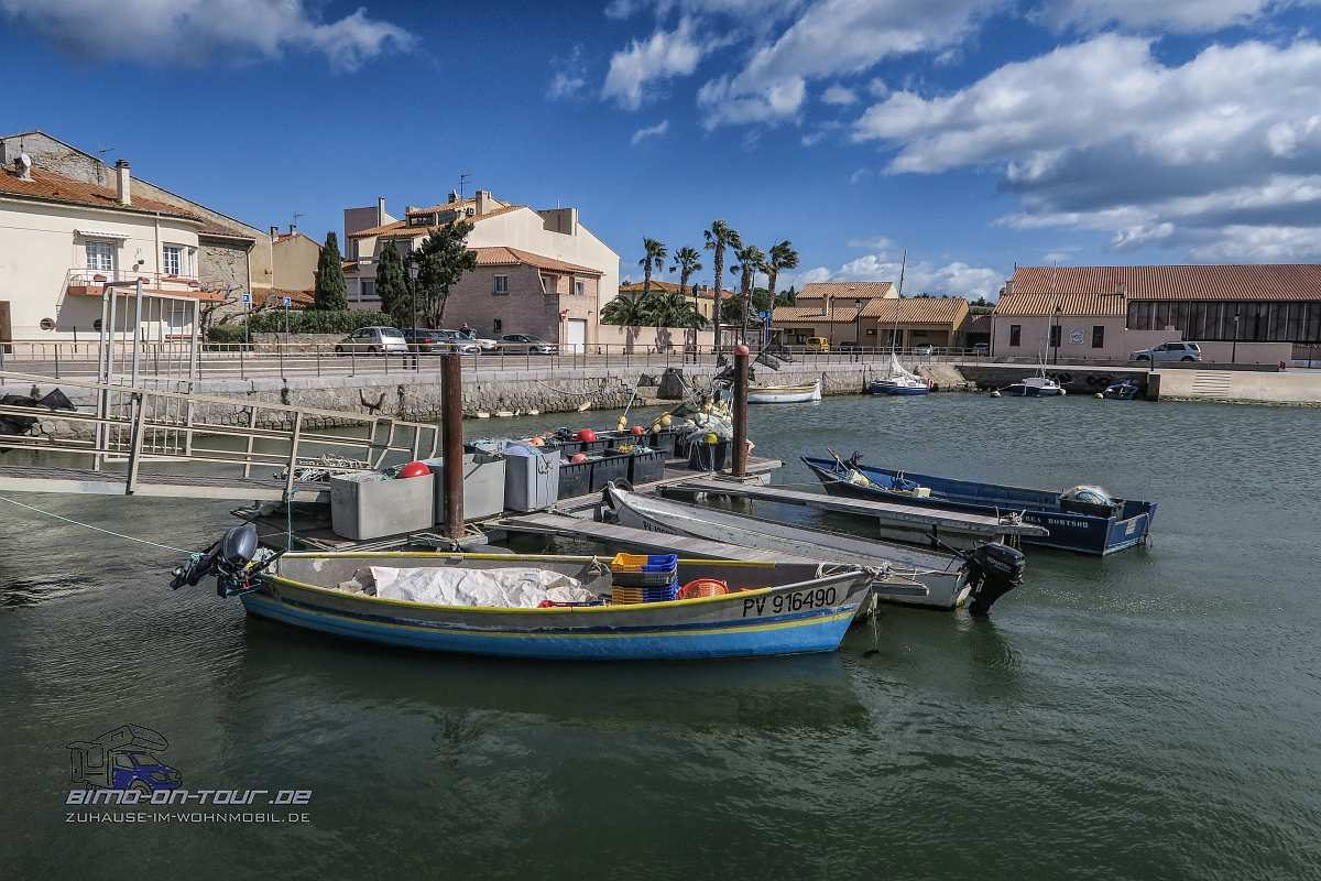Gruissan-Hafen