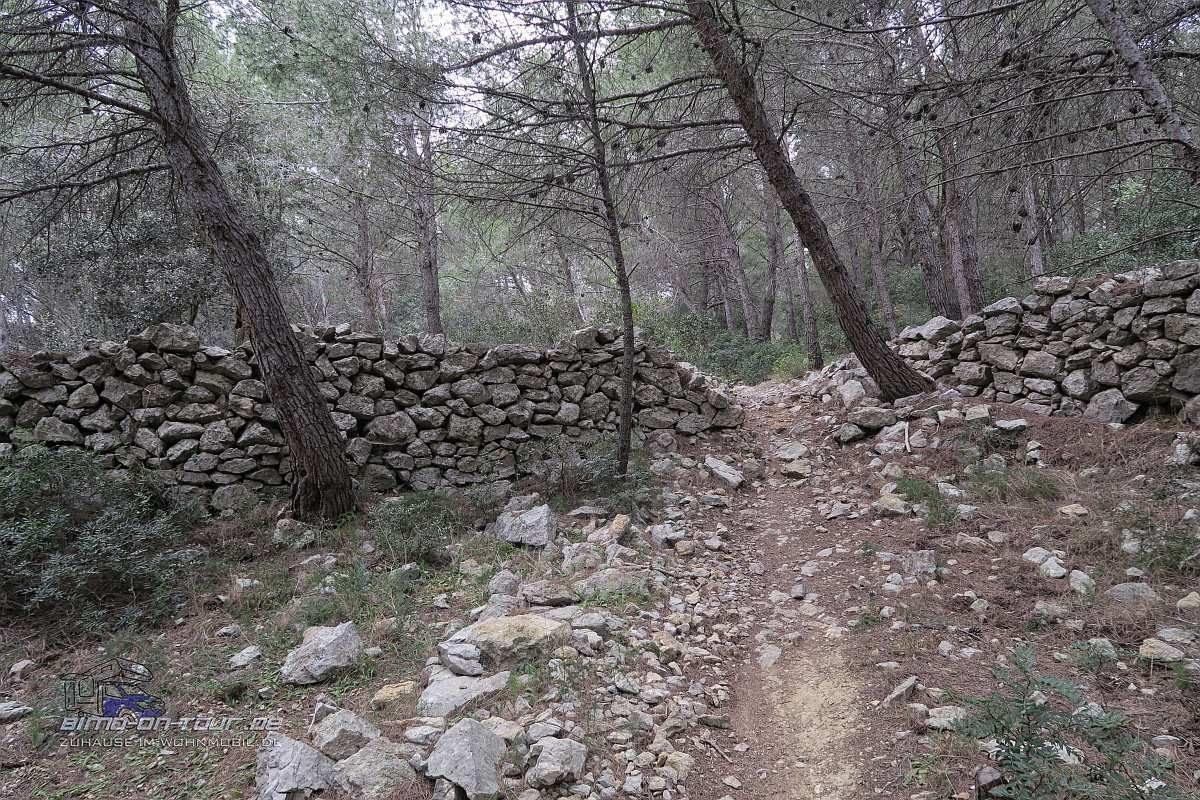Gruissan-Wanderweg