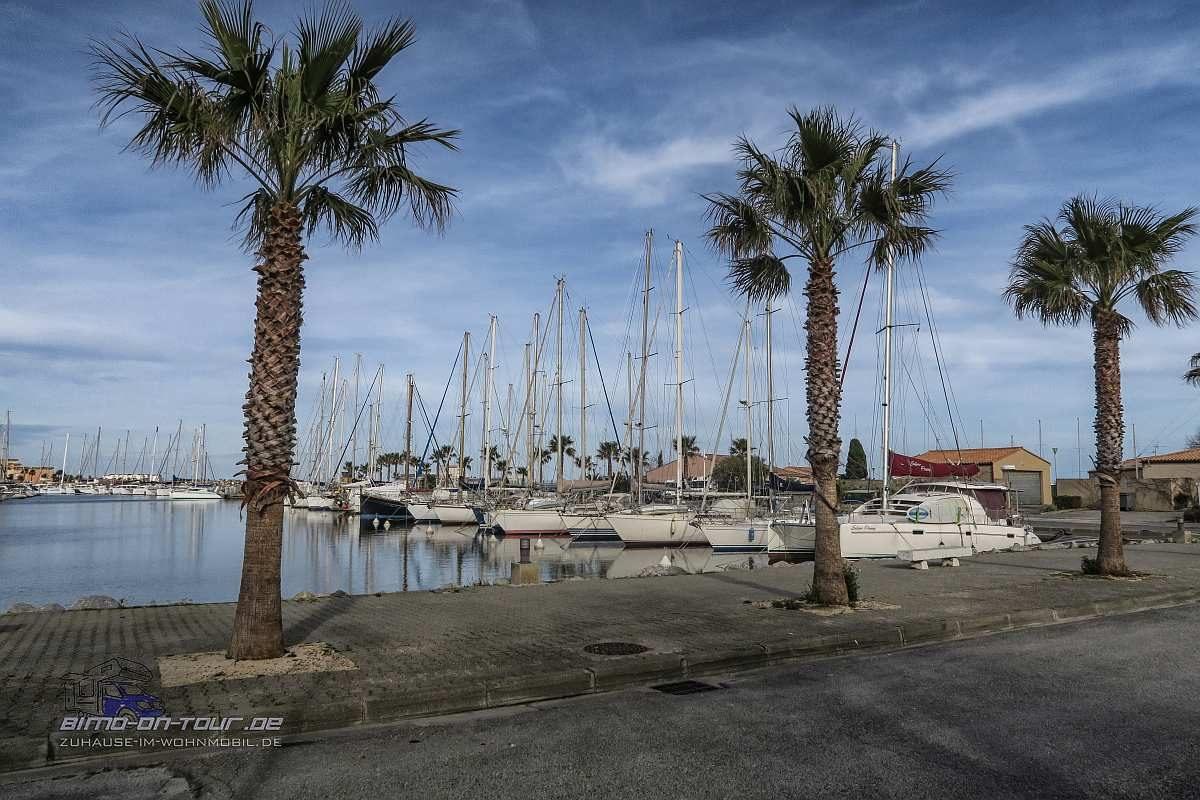 Gruissan Yachthafen