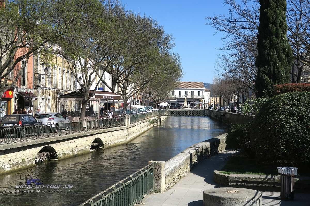 Isle-sur-la-Sorgue-Kanal