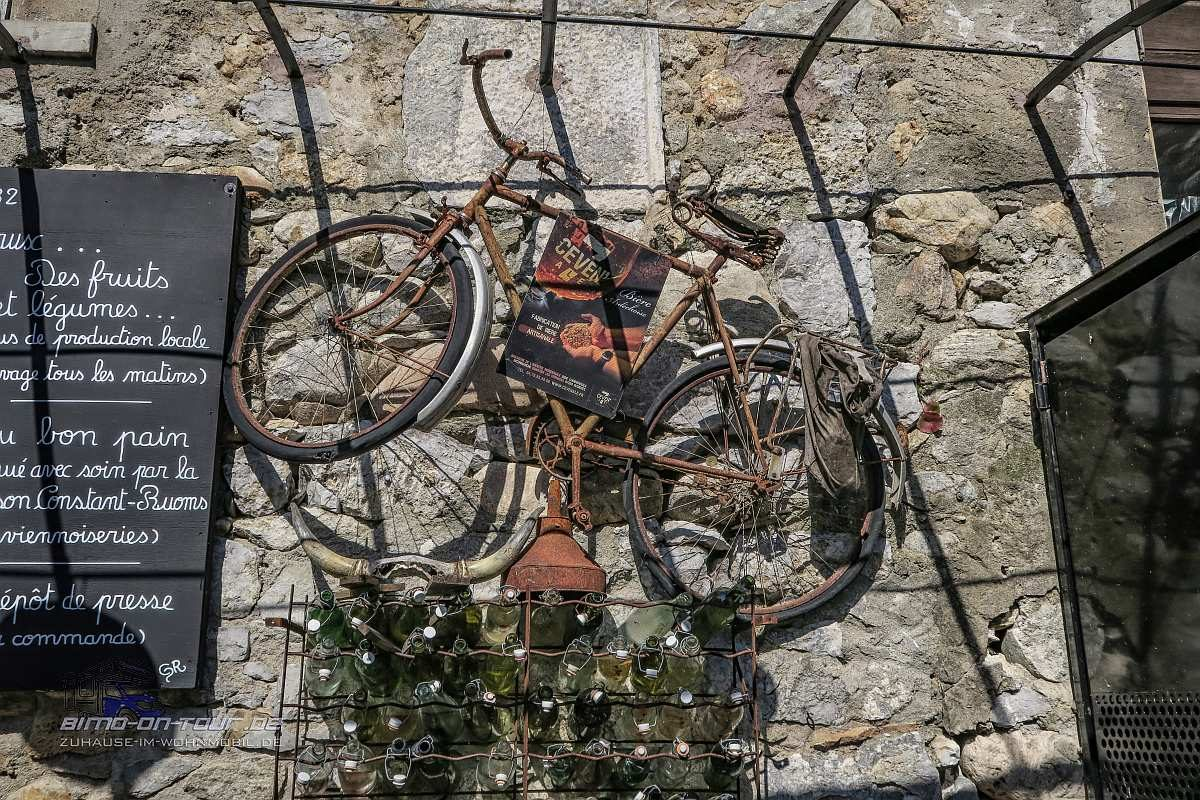 Labeaume-Fahrrad