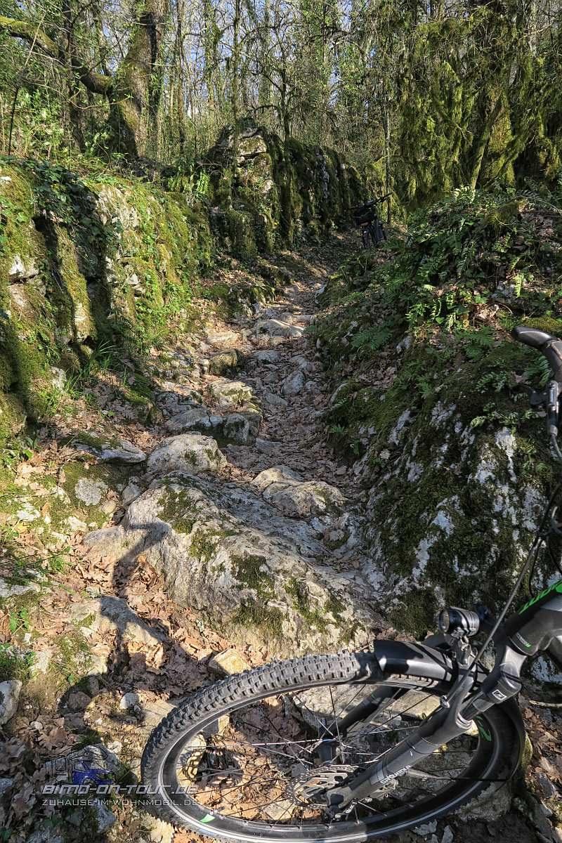 Labeaume-Radweg
