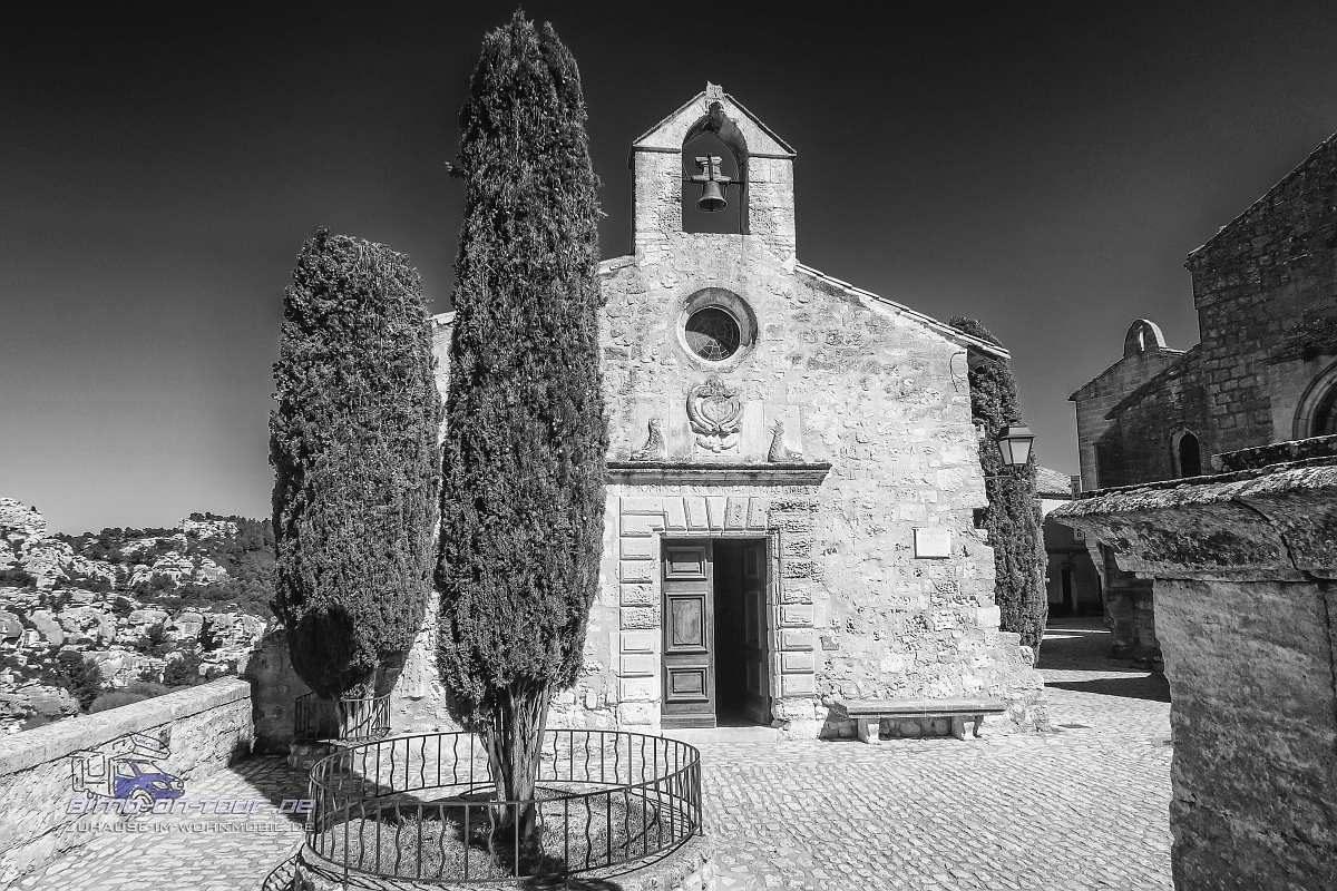 Les Baux de Provence-Kirche