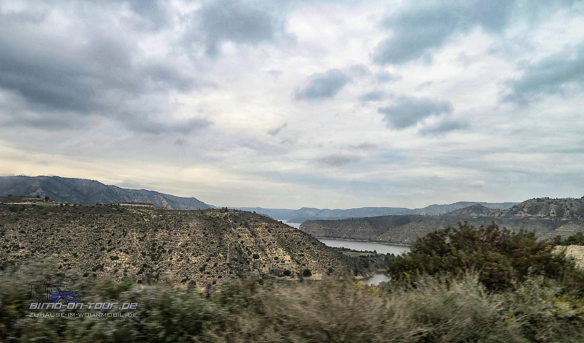 Mequinenza-Landschaft