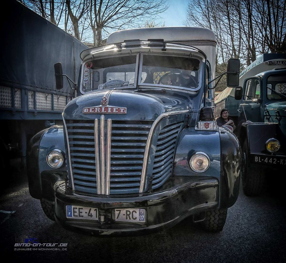 Oldtimer-LKW-Berliet