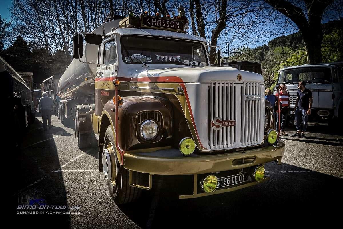 Oldtimer-LKW-Scania