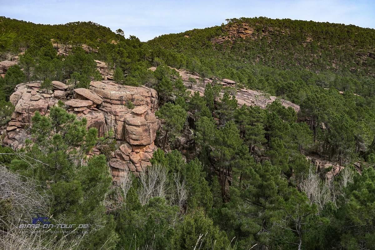 Pinturas Rupestres-Landschaft