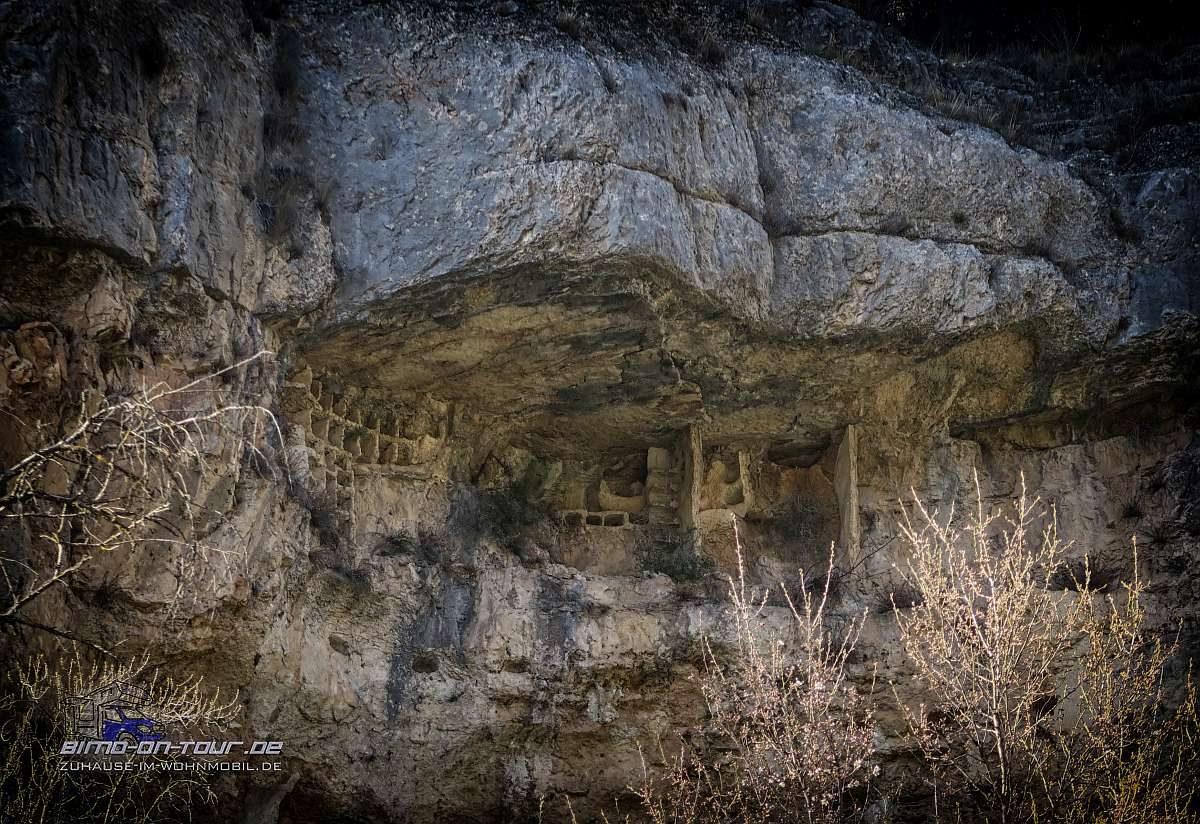 Rio Jucar-Höhlenwohnung