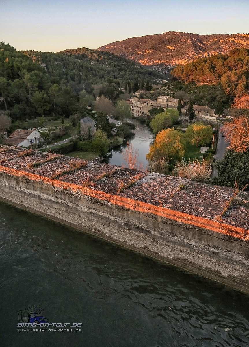 Vaucluse-Blick vom Aquädukt