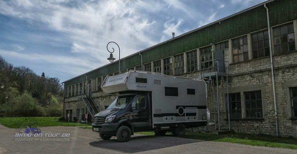 Kartonfabrik-Stellplatz