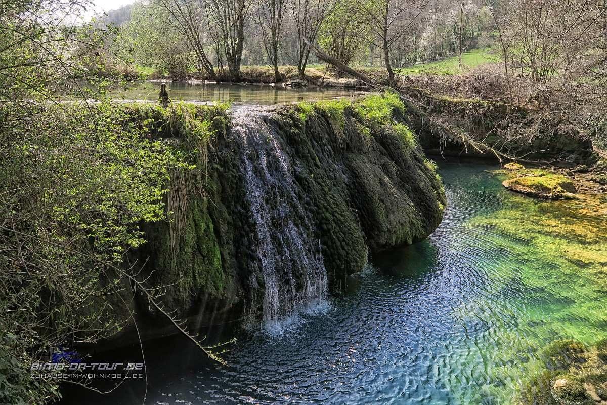 La Cuisance Wasserfall