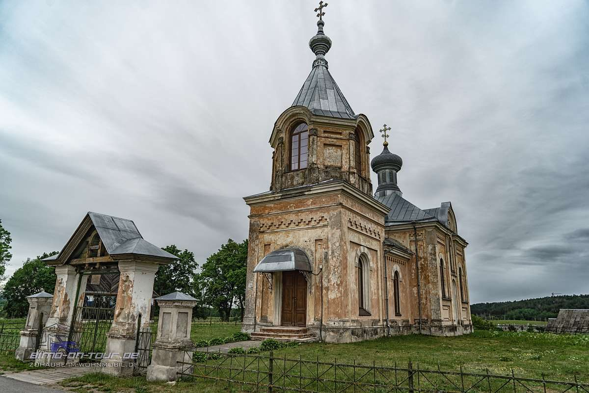 Lettland-Kirche