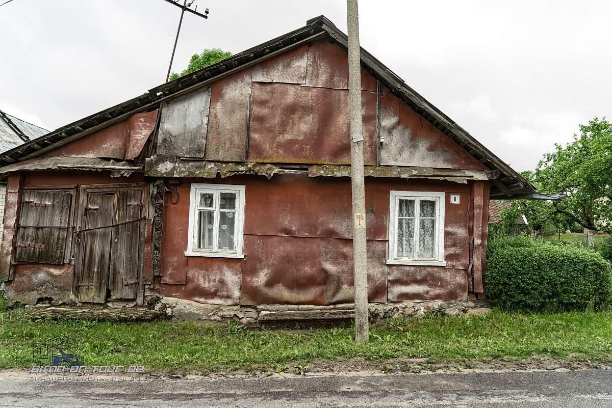 Lettland-Wohnhaus