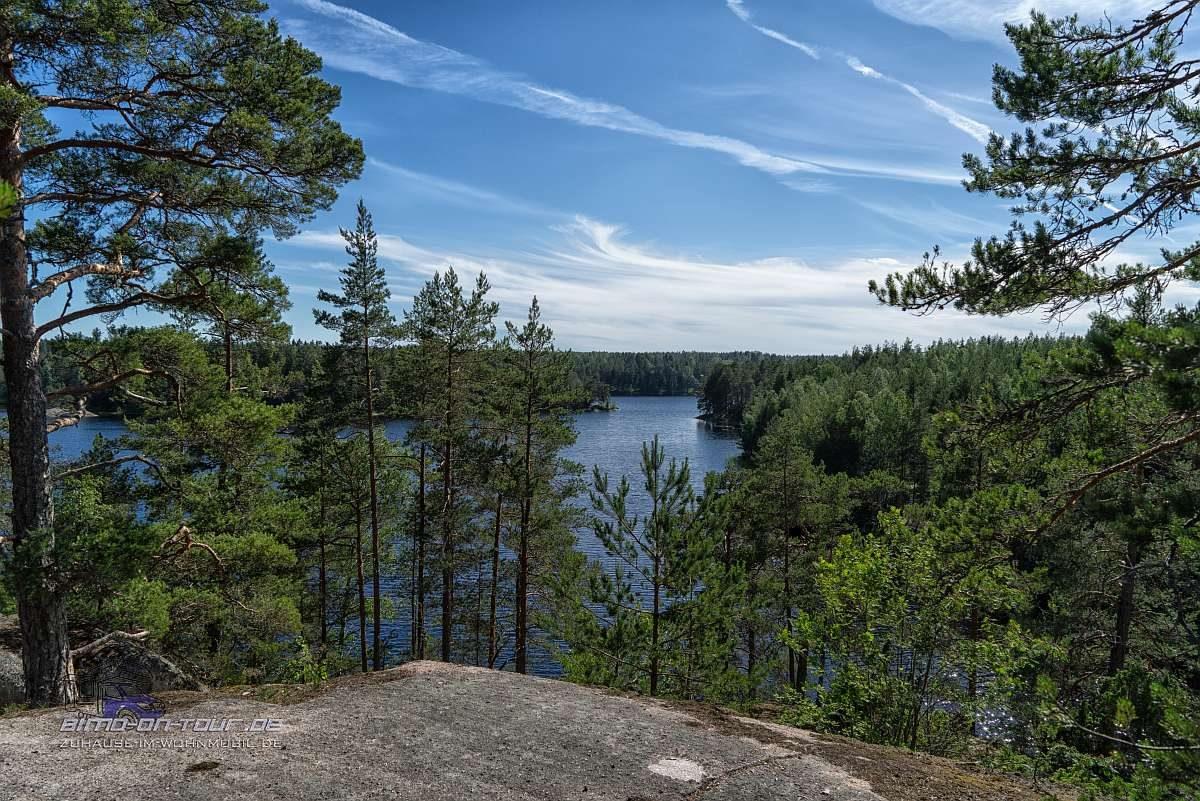 Finnland-Seeaussicht