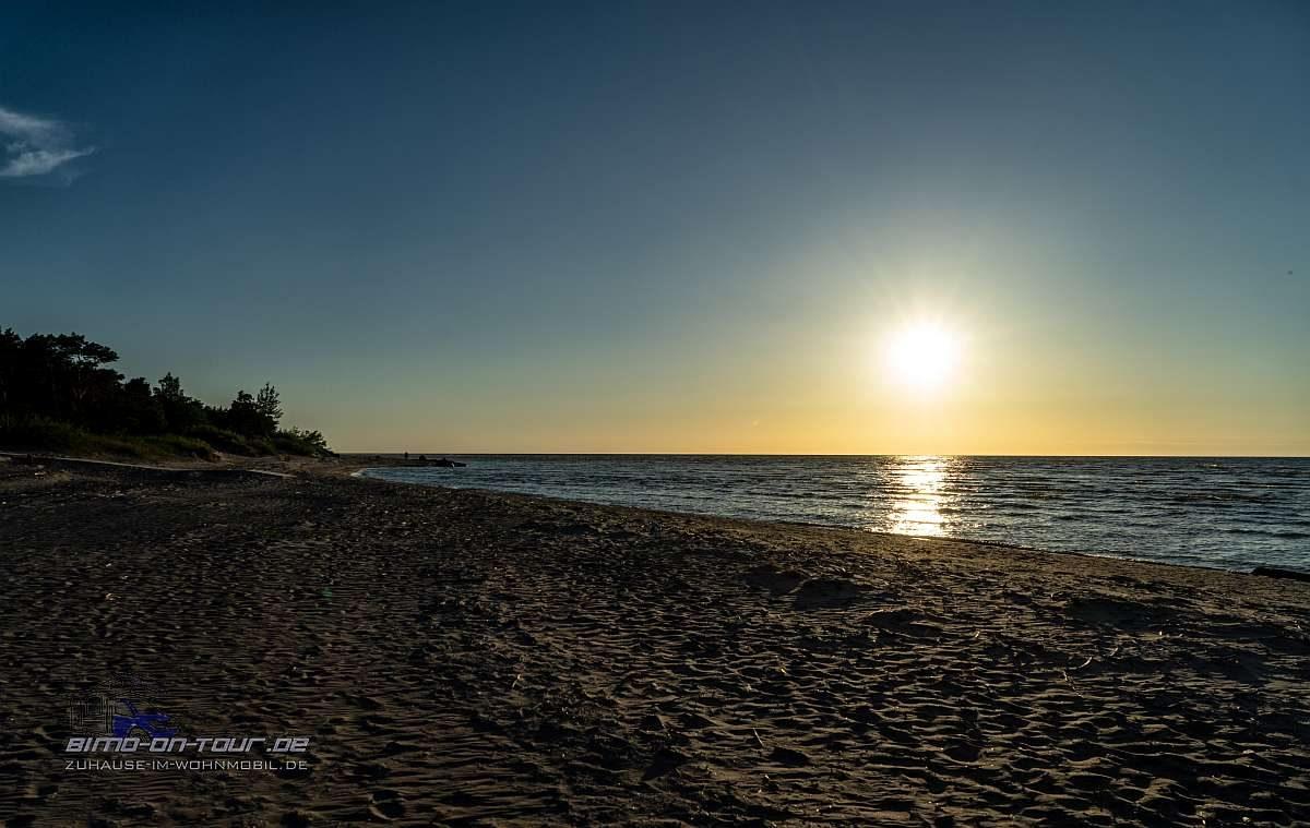 Kap Kolka-Sonnenuntergang