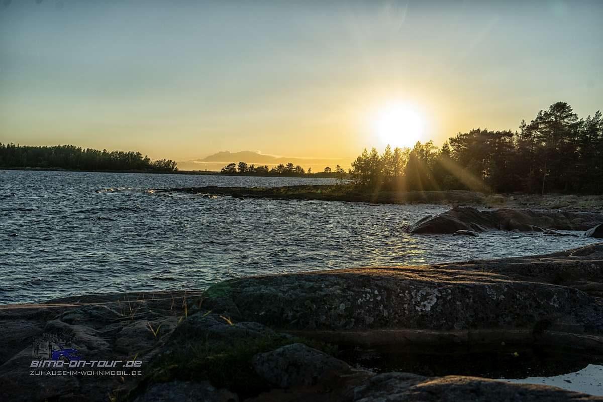 Kristinestad-Strand-Sonnenuntergang