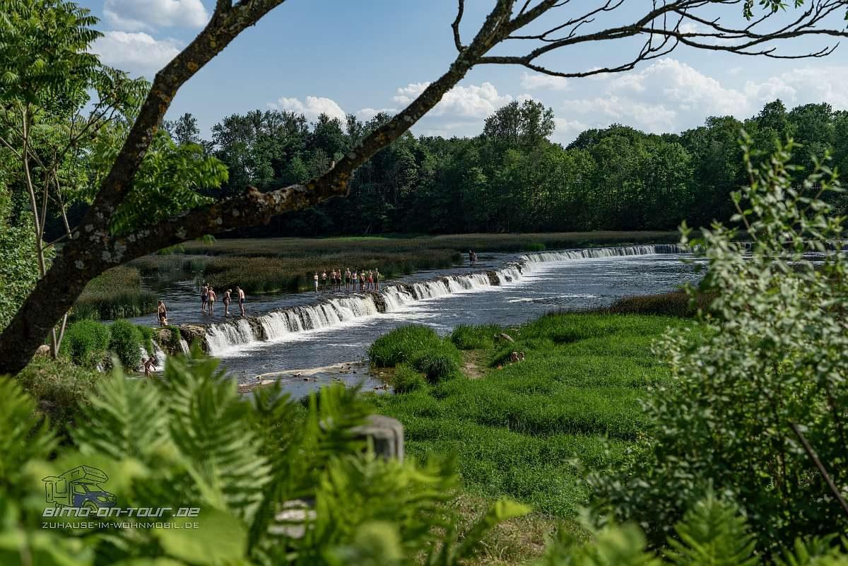 Kuldiga-Wasserfall