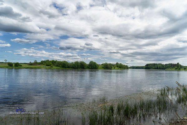 Narva-Blick auf Russland