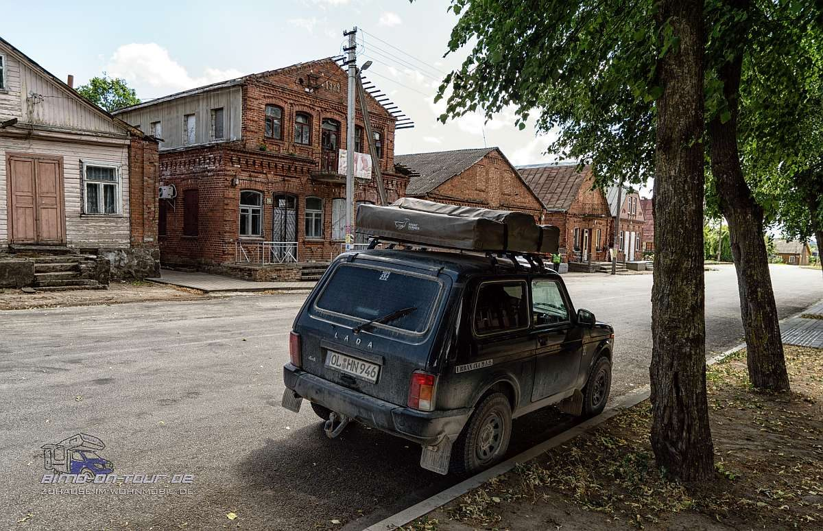 Lada im litauischen Dorf