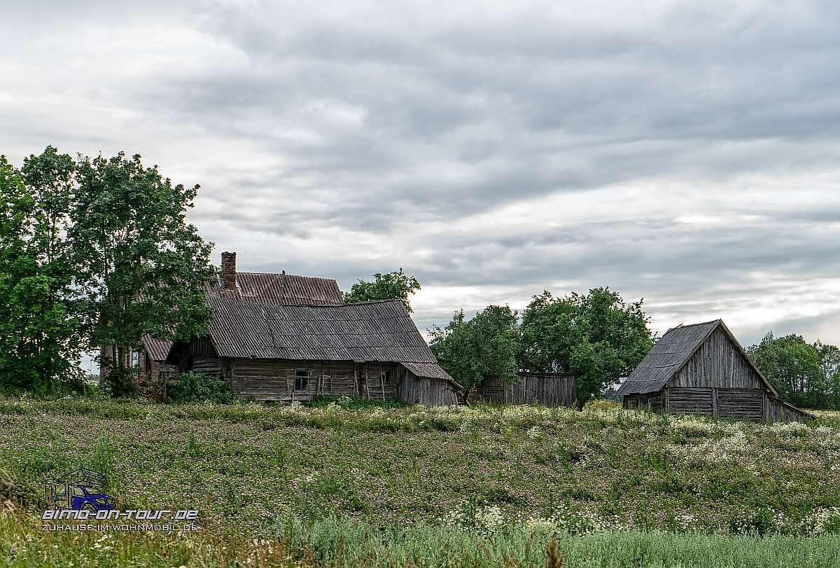 Lettland-Gehöft